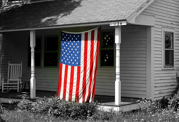 American Photograph - The Colors Of Freedom by Linda Galok