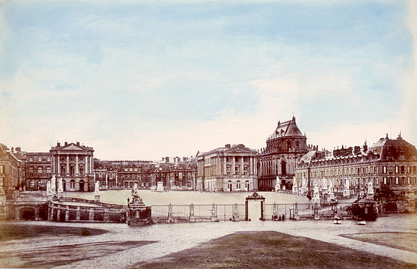 1880s Photograph - The Palace Of Versailles. C. 1880 by Everett