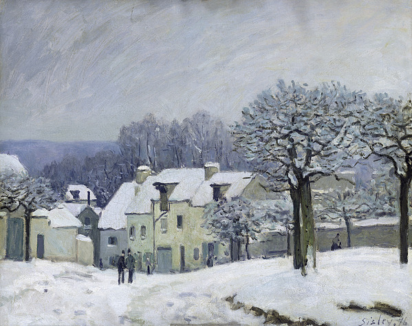The Place Du Chenil At Marly-le-roi Painting - The Place Du Chenil At Marly Le Roi by Alfred Sisley