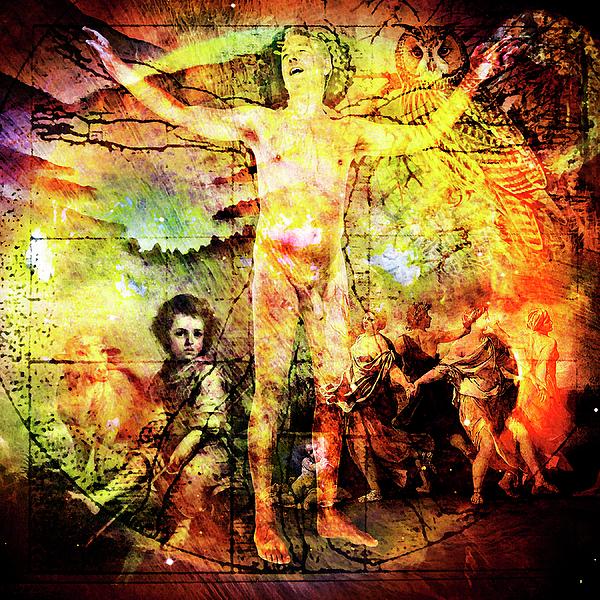 Kahlil Gibran Digital Art - The Prophet On Death by Barry Novis