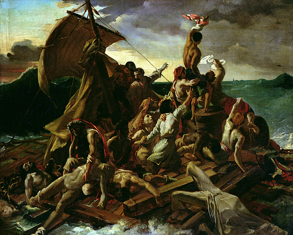 The Raft Of The Medusa Painting - The Raft Of The Medusa by Theodore Gericault