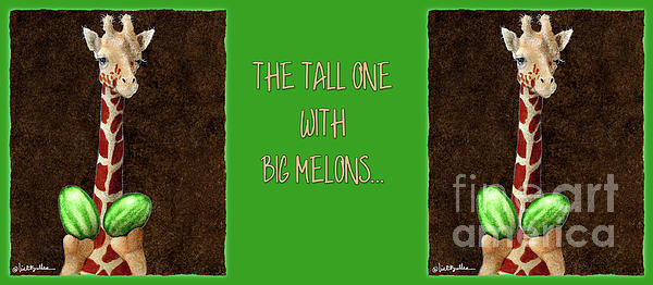 Will Bullas Painting - The Tall One With Big Melons... by Will Bullas