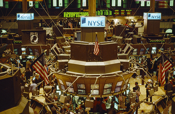 North America Photograph - The Trading Floor Of The New York Stock by Justin Guariglia