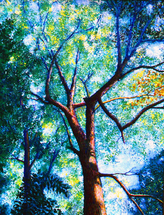 Landscape Painting - The Tree by Stan Hamilton