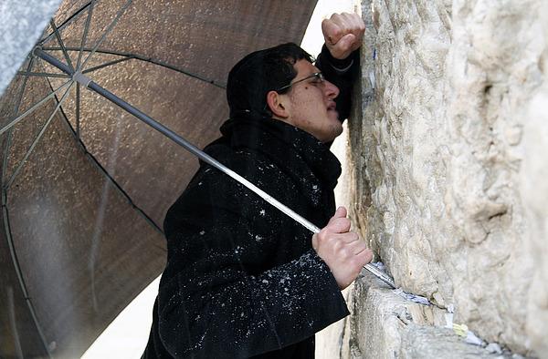 Jerusalem Photograph - The Western Wall In Jerusalem by Jason Moore