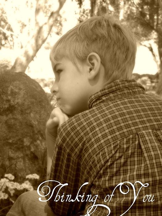 Thinking Of You Photograph - Thinking Of You by Amanda Eberly-Kudamik