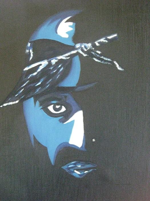Tupac Painting - Tupac by James Dolan