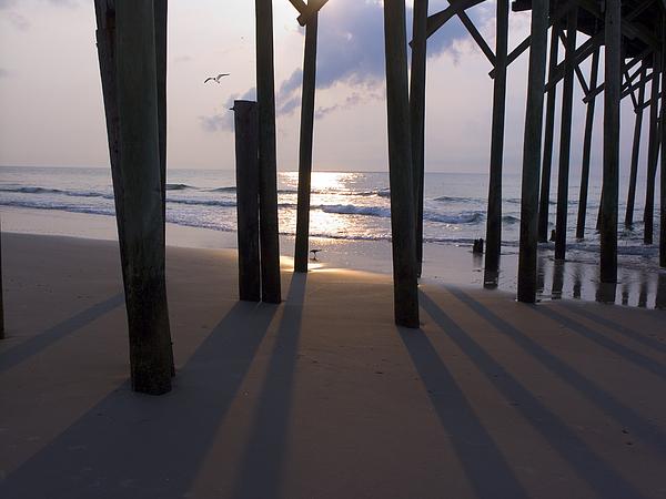 Pier Photograph - Under Pier by Paul Boroznoff