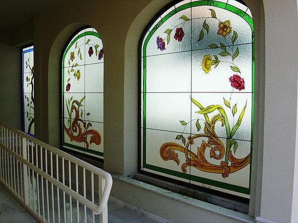 Vidrieras Rota 1 Glass Art by Justyna Pastuszka