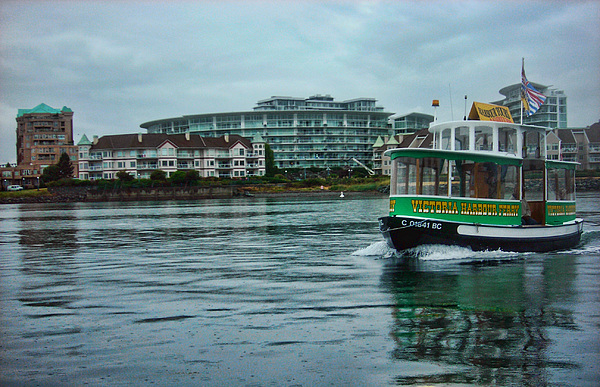 River Photograph - Water Bus by Anastasia Michaels