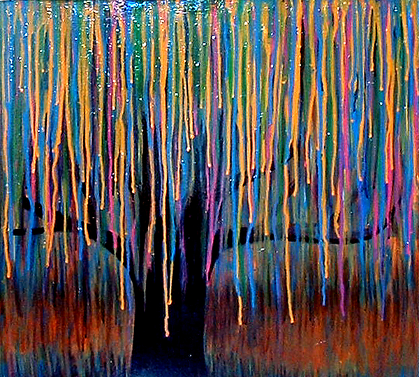 Weeping Willow Painting By Monica Furlow