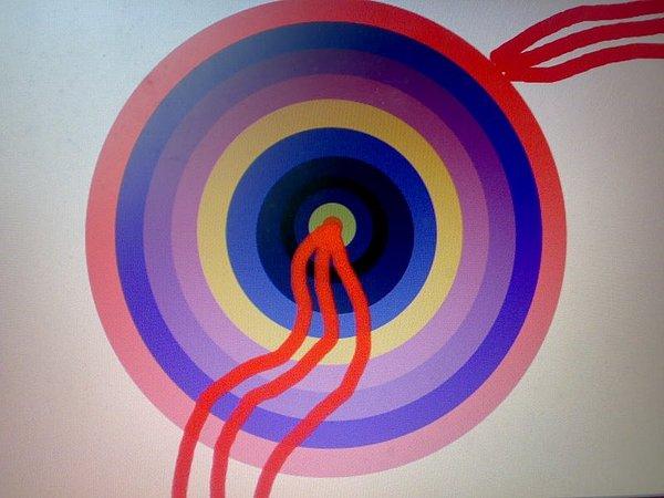 Whirls Painting by Satyajit Shergill