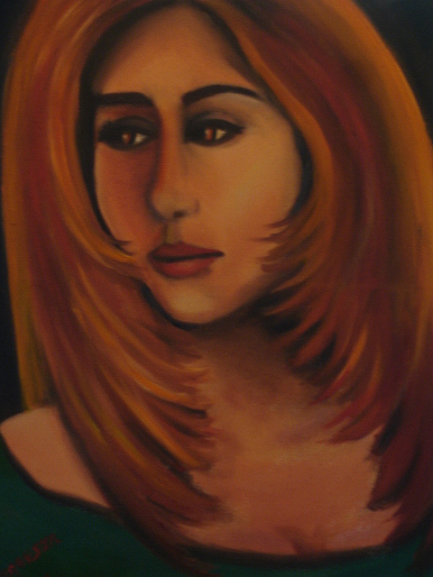 Sad Women Painting - Why by Linda Mungerson