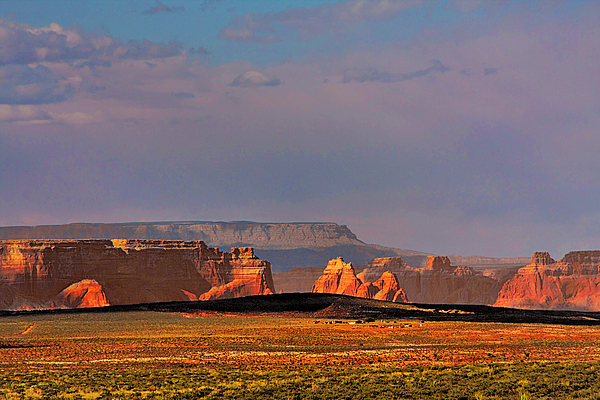 Page Photograph - Wide-open Spaces - Page Arizona by Christine Till