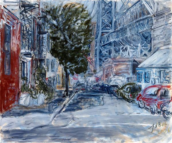 Williamsburg2 Painting by Joan De Bot