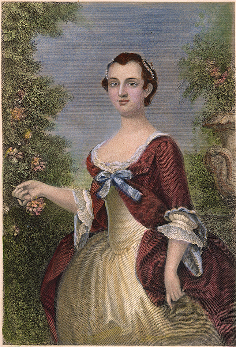 1757 Photograph - Martha Washington by Granger