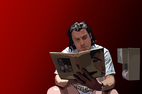 Pulp Fiction Digital Art - 103. Have You Ever Given A Foot Massage by Tam Hazlewood