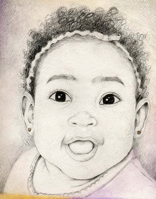 Black Child Mixed Media - 105 by Candace Williams
