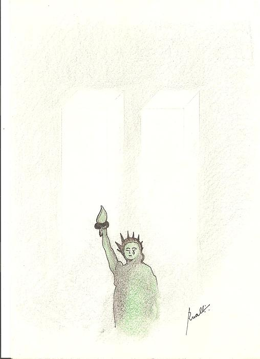 11 De Setembro Drawing by Rakyul - Raul Augusto Silva Junior