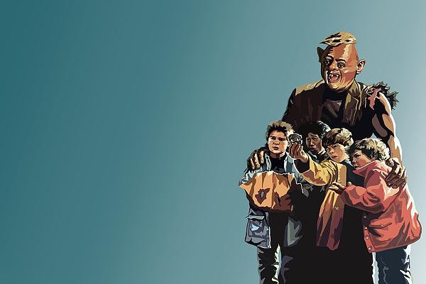 The Goonies Digital Art - 112. Never Say Die by Tam Hazlewood