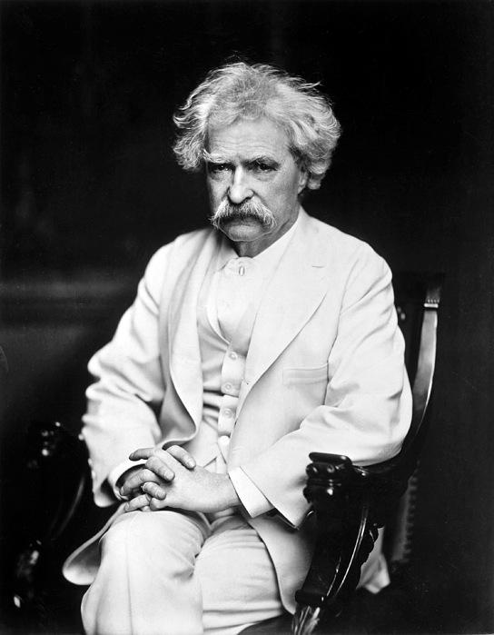 1900 Photograph - Samuel Langhorne Clemens by Granger