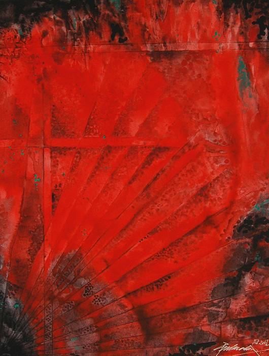Abstract Painting - Untitled by Padmakar Kappagantula