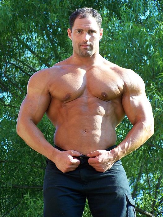 Marius Photograph - Male Muscle Art Marius by Jake Hartz