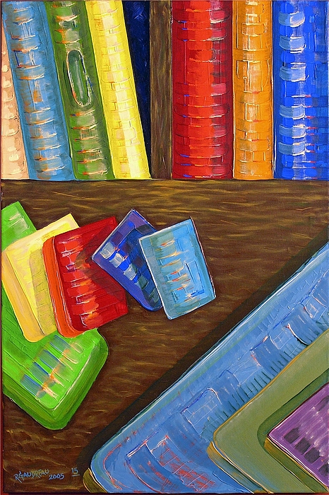 Abstract Expressionism Painting - 15 Books by Robert Gaudreau