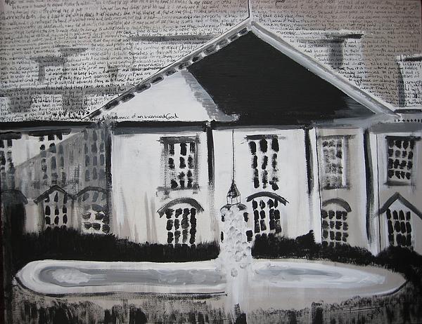 1600 Pennsylvania Avenue Sinners Painting by Darkest Artist