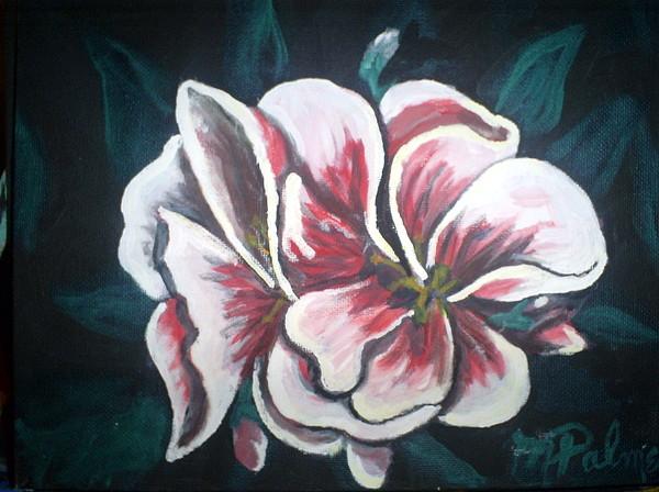 Flower Painting - Flower by Margaret Palmer