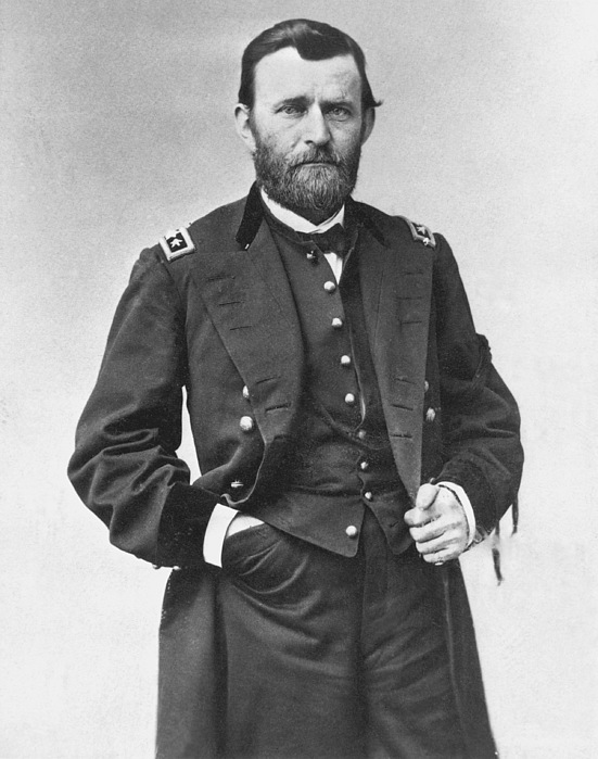 1860s Photograph - Ulysses S. Grant (1822-1885) by Granger