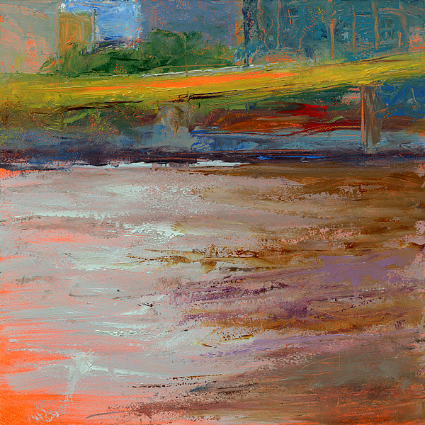 Bridges Painting - Rcnpaintings.com by Chris N Rohrbach