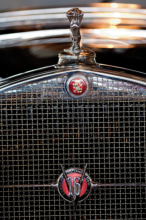 Hoodie Photograph - 1930 Cadillac Roadster Hood Ornament 3 by Jill Reger