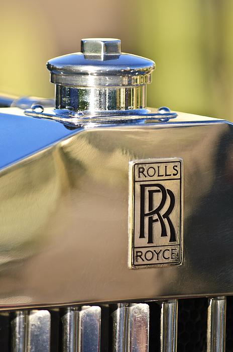 1935 Rolls-royce Phantom  Ii Photograph - 1935 Rolls-royce Phantom II Hood Ornament by Jill Reger
