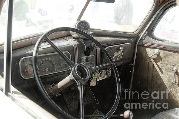 Cars Photograph - 1937 Chevy  by Steven Digman