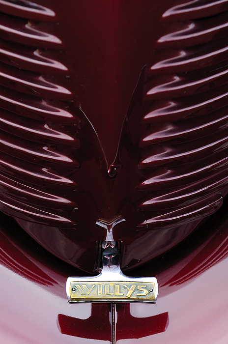Transportation Photograph - 1938 Willys Grille by Jill Reger