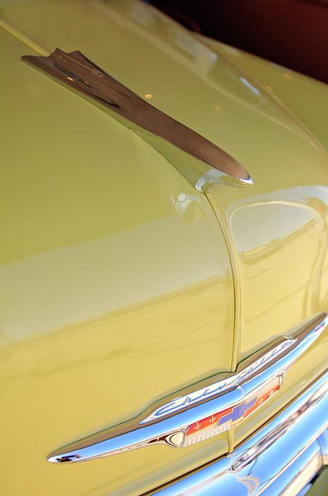 Belair Photograph - 1953 Chevrolet Bel Air Hood Ornament by Jill Reger