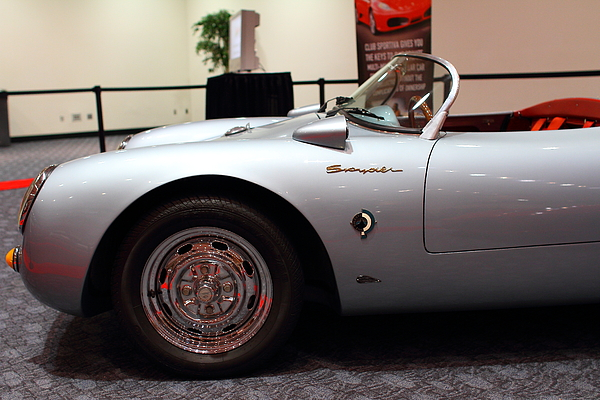 Transportation Photograph - 1955 Porsche 550 Rs Spyder . 7d 9411 by Wingsdomain Art and Photography