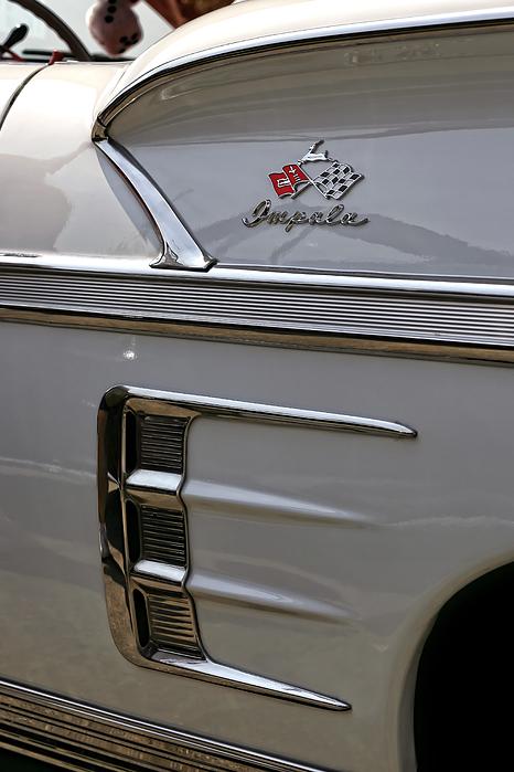 1958 Photograph - 1958 Chevrolet Impala by Gordon Dean II