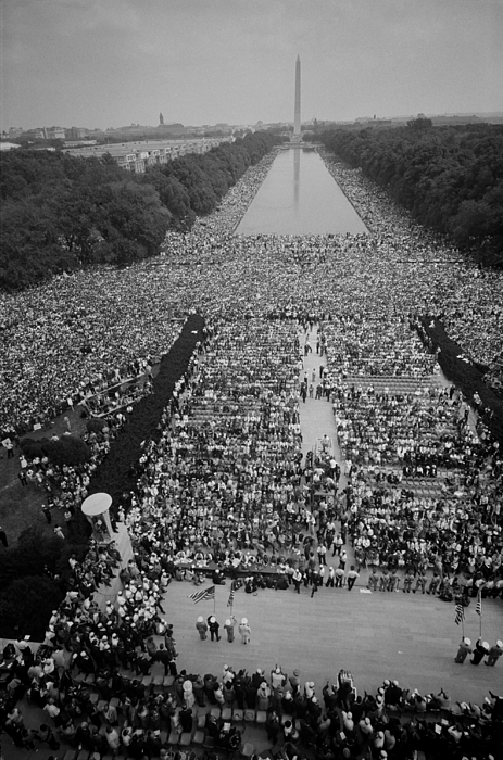 History Photograph - 1963 March On Washington, At The Height by Everett