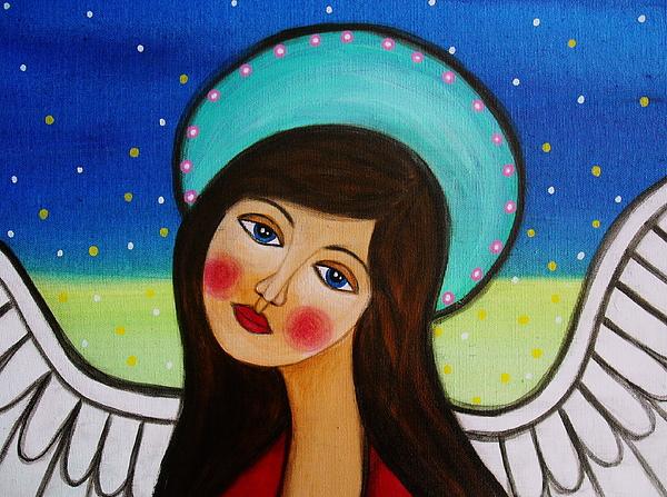 Angel Painting - Angel by Pristine Cartera Turkus