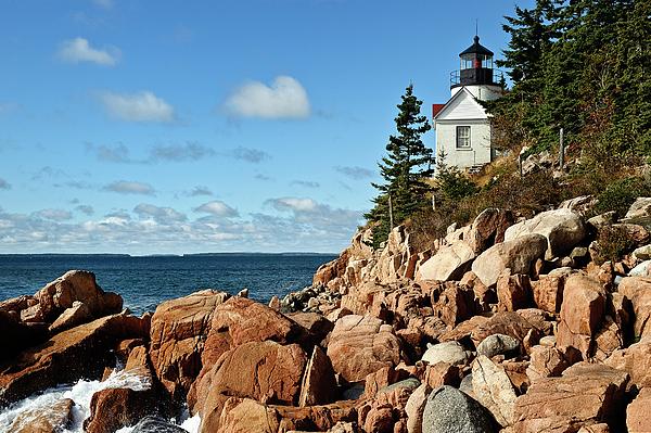 Acadia National Park Photograph - Bass Harbor Lighthouse by John Greim