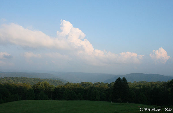 West Virginia Photograph - Chapman Family Cemetary by Carolyn Postelwait