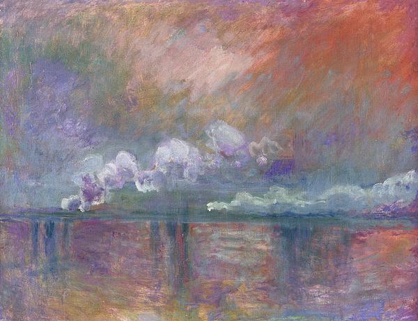 Charing Cross Bridge Painting - Charing Cross Bridge by Claude Monet