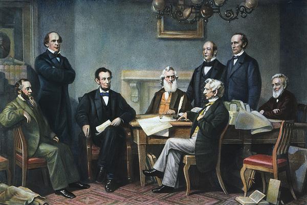1862 Photograph - Emancipation Proclamation by Granger