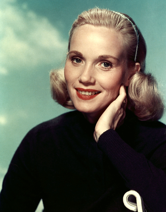 Headband Photograph - Eva Marie Saint, Ca. 1950s by Everett