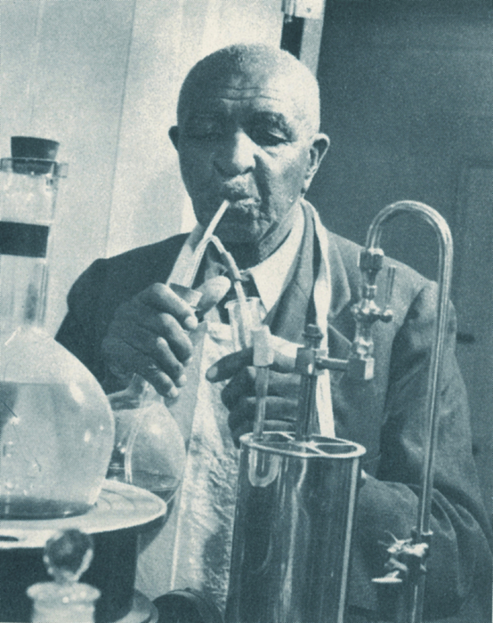 Science Photograph - George W. Carver, African-american by Science Source