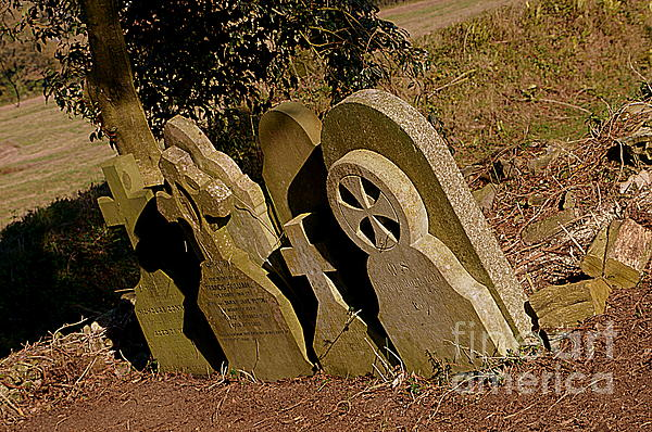 Grave Stones Photograph - Grave Stones by Andy Thompson