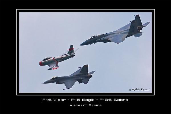 F-16 Photograph - Heritage Flight by Mathias Rousseau