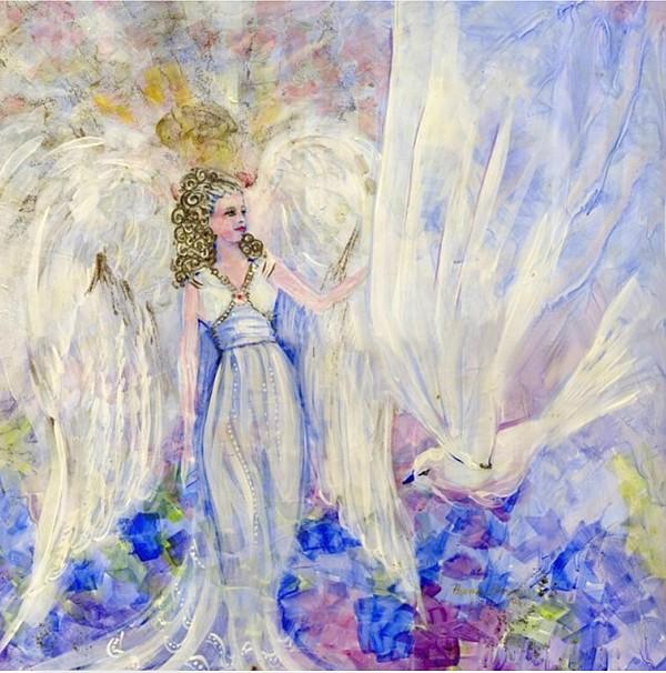 Inspiration Painting - Inspiration by Rosemary Babikan